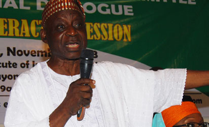 Chairman of the Presidential Advisory Committee on National Conference/Dialogue, Dr Femi Okurounmu