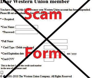 Western-union-scam