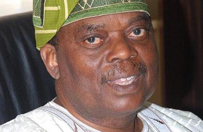 Chief of Staff to President Jonathan, Brig.-Gen Jones Oladehinde Arogbofa (rtd)