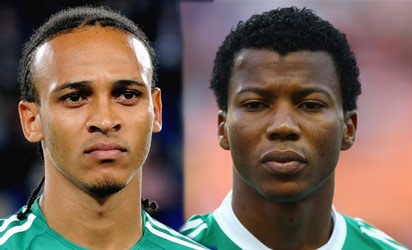 Osaze Odewengie and Ike Uche