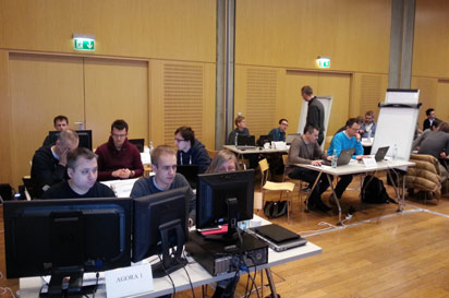 Editors lab hackdays held in Warsaw Poland on April 1-2.