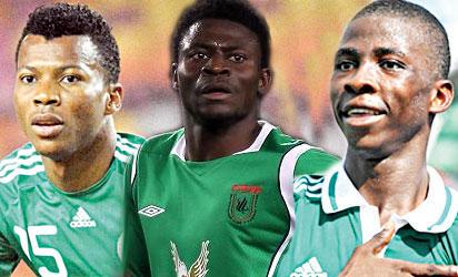 Uche, Martins and Iheanacho