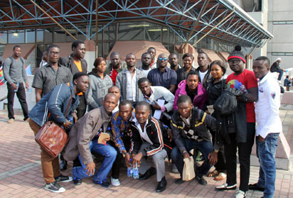 *Nelson Mandela Students in South Africa