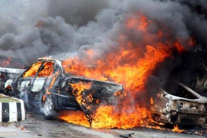 Gombe presidential rally Car-Bomb-Blast