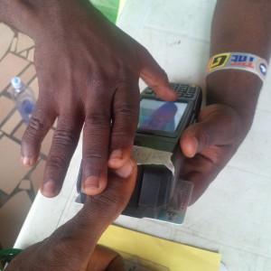 Card Reader working in Agodo unit 44 ward d in Lagos