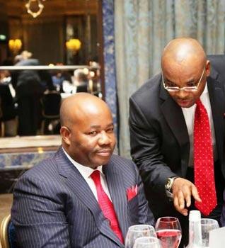 Between Akpabio and Udom Emmanuel - Vanguard News