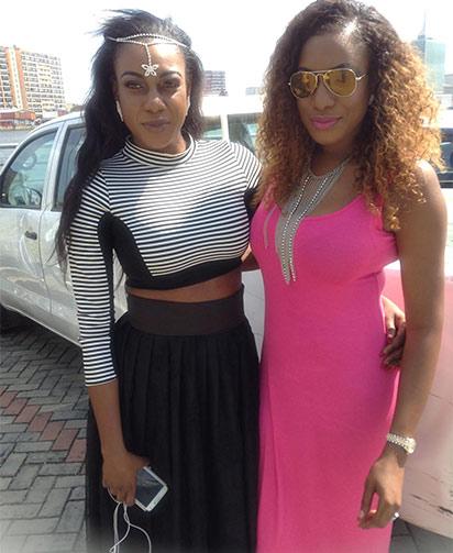 Chika and Vivien