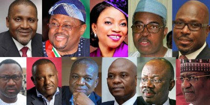 Some of Nigeria's millionaires