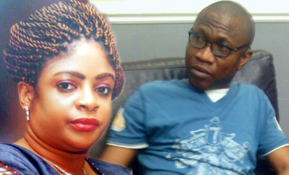 Mrs Toyin Nwosu and Steve Nwosu