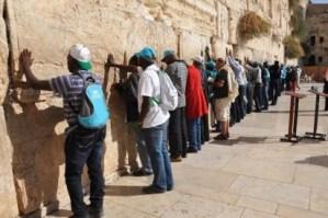 Christian pilgrims