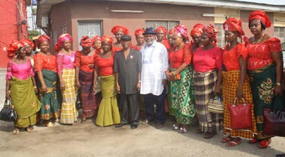 Members of the Women Wing of Niger Delta Peoples Forum.