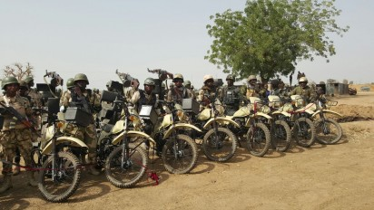 Army Inducts Combat Motorbike Operation Against Terrorists