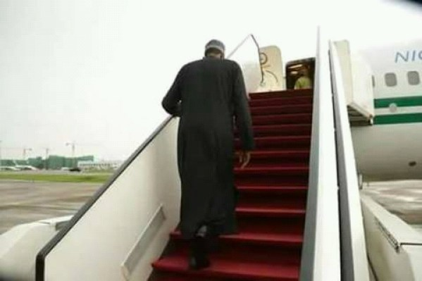 Buhari in London
