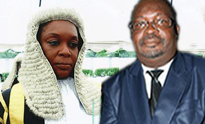 Justice Rita Ofili-Ajumogobia and Justice Musa Haruna Kurya