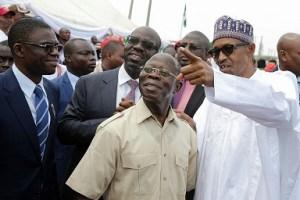 Buhari, Oshiomhole