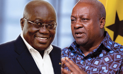 Akufo-Addo and Mahama