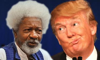 Soyinka and trump