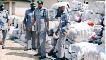 Image result for Nigerian Customs intercepts Cannabis contraband in Sokoto