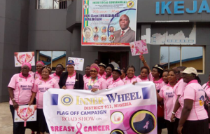 Inner Wheel funds treatment of breast cancer patient in Oyo