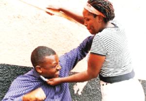 fighting in public