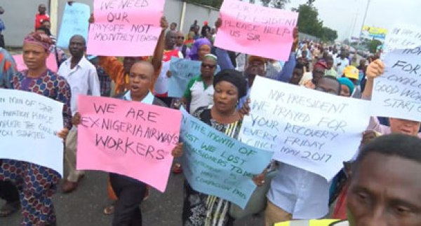 We'll appreciate payment of our entitlement this COVID-19 period ― Ex-Nigeria Airways workers