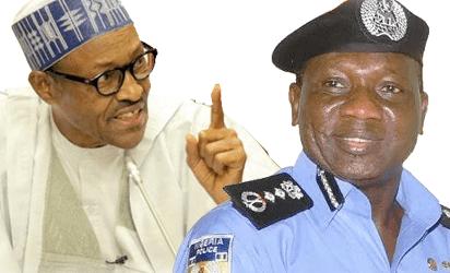 Buhari and IGP idris