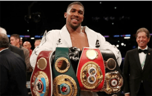 BREAKING: Anthony Joshua defeats Joseph Parker in world heavyweight clash