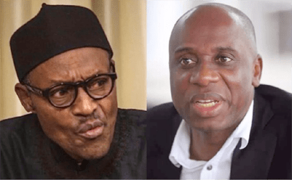 Buhari lauds Amaechi's role in APC's victory in 2015, 2019 polls