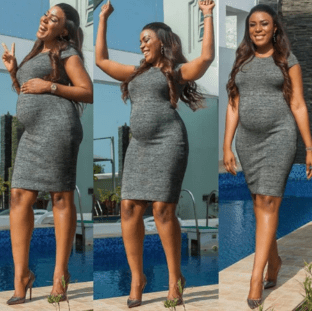 Linda Ikeji is expect's her first Baby