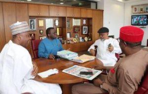 Breaking: Saraki, Adewole, Ngige in closed door meeting over JOHESU strike