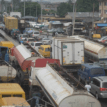 "Apapa gridlock: Sanwo-Olu's traffic team helpless as miscreants, ""okada"" riders take over road"