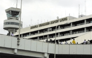 DEVELOPING: Military, police take over Lagos Airport access gate plaza from unions members
