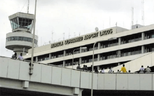 Passenger dies at Lagos airport on arrival from China