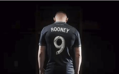 Rooney plays first match for D.C. United 14 July 1