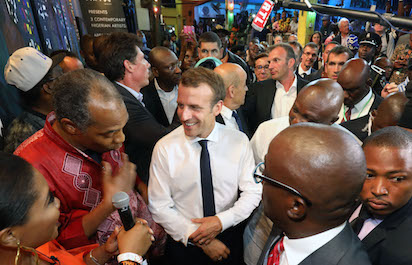 Macron's visit to Afrikan Shrine will spur development in entertainment sector, say Okoroji , other experts 1