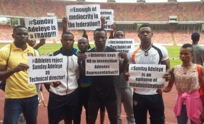 AFN cancels athletics championship after protest