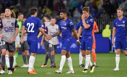 Sarri begins life in Chelsea with win over Perth Glory 2