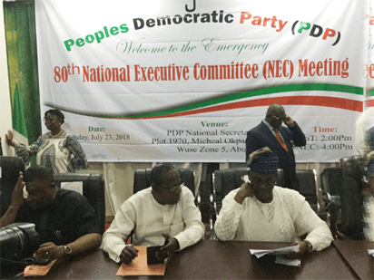Breaking: PDP's NEC approves R-APC fusion , set to change of name 2