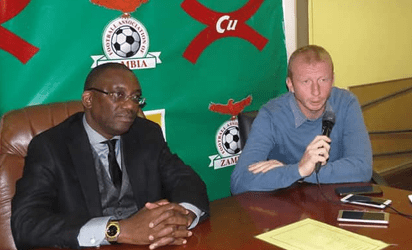 Zambia unveil Vandenbroeck as new national team coach 1
