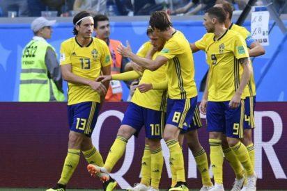 Sweden beat Switzerland 1-0 to reach World Cup quarter-finals 1