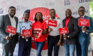 From left: Dean Okon of Diamond School of Protocol & Etiquette, Air Commodore AJ. Bolajoko, Modupe Adara Co-Founder - The Boy Child Development Initiative, First Officer Ayotunde Ilesanmi , Kunle Shokunbi CEO NaijaButcher, Akinropo Akinola Founder ParenMark School of parenting. At the just concluded Boy Child Conference in Alausa