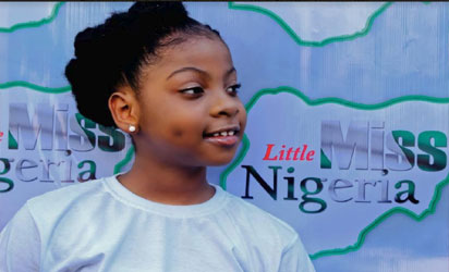 9yr-old Mmesoma Ikwuagwu, from Abia state, described as prettier than Nicki Minaj becomes Little Miss Nigeria