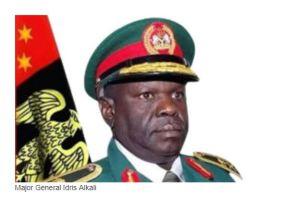 Late. Major General Idris Alkali