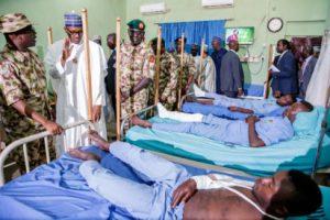 Buhari, military, North east