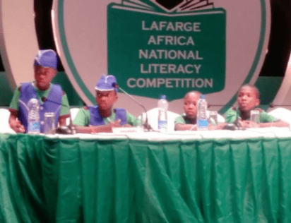 Lafarge Africa National Literacy Competition