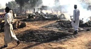 Boko Haram attack Borno, set imam, family members, others ablaze