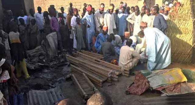 Boko Haram attack Borno,  set imam, family members, others ablaze