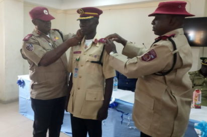 FRSC promotes, decorates 35 officers
