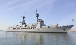 Navy warship, Thunder, resumes patrol after 2 years grounding