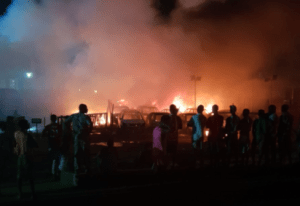 Lagos fire: Boy, two men die in Abule Egba vandalised NNPC pipeline explosion